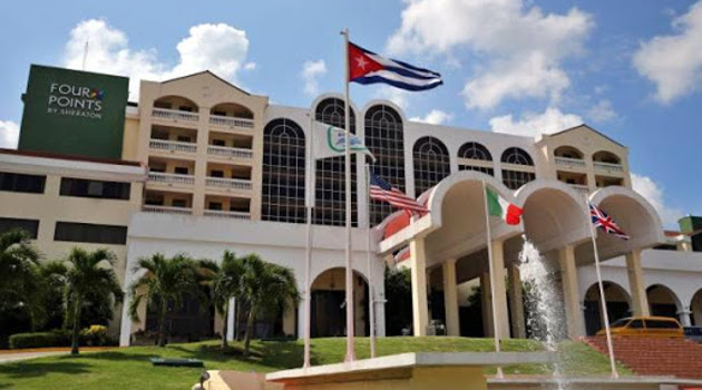 El hotel Four Points by Sheraton de La Habana, Cuba. /Foto: Archivo